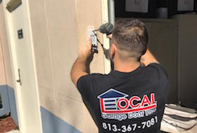 garage door repair in tampa by local garage door pro