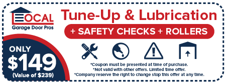 Garage door tune-up coupon